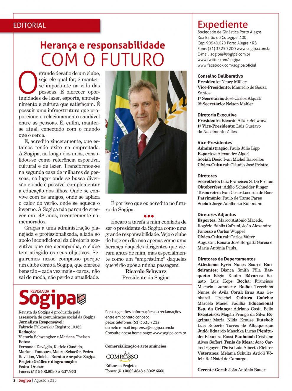 Edição Nº 46 - Agosto de 2015
