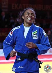 Érika Miranda vai para o primeiro mundial representando a Sogipa