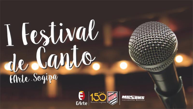 I Festival de Canto EArte   Sogipa... >