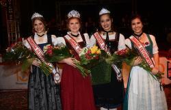 Luísa Weizenmann Kornowski, do Projeto Criança, é a nova rainha da Oktoberfest da Sogipa
