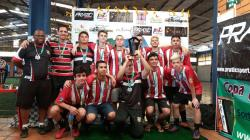 Equipe de futebol da Sogipa fatura título em três categorias da Copa Sortica