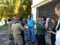 Escoteiros da Sogipa reiniciam atividades. No primeiro encontro do ano, foram distribuídos lenços comemorativos pelos 105 anos do grupo
