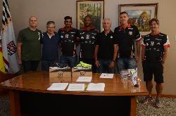 Sogipa e 361º assinam parceria. Empresa será marca oficial do atletismo e apoiará Almir Júnior, Pedro Burmann e Anderson Henriques