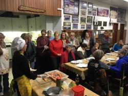 Departamento de veteranos realiza oficinas gastronômicas com objetivo de aprender e celebrar a amizade