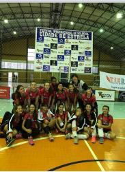 Equipes de vôlei feminino da Sogipa participaram do 12º Festival Internacional Cidade de Estrela