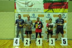 Sogipa é campeã geral da 3ª Etapa do Campeonato Estadual de Tênis de Mesa