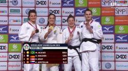 Mayra Aguiar conquista título do Grand Slam de Düsseldorf e sobe no ranking mundial