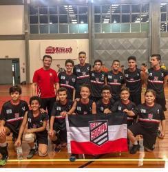 Equipes mirins de vôlei da Sogipa vencem todos os sets da primeira etapa da Copa Cláudio Braga