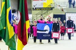 Copa Integração de Ginástica Rítmica contou com apresentação de 100 sogipanas