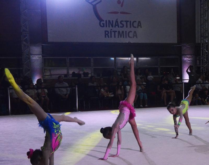 Clube anfitrião » Sogipa sedia neste final de semana a III Etapa do Estadual de Ginástica Rítmica
