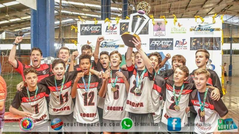 Alegria multiplicada > Equipes de futebol da Sogipa faturam títulos em três categorias da Copa Sortica