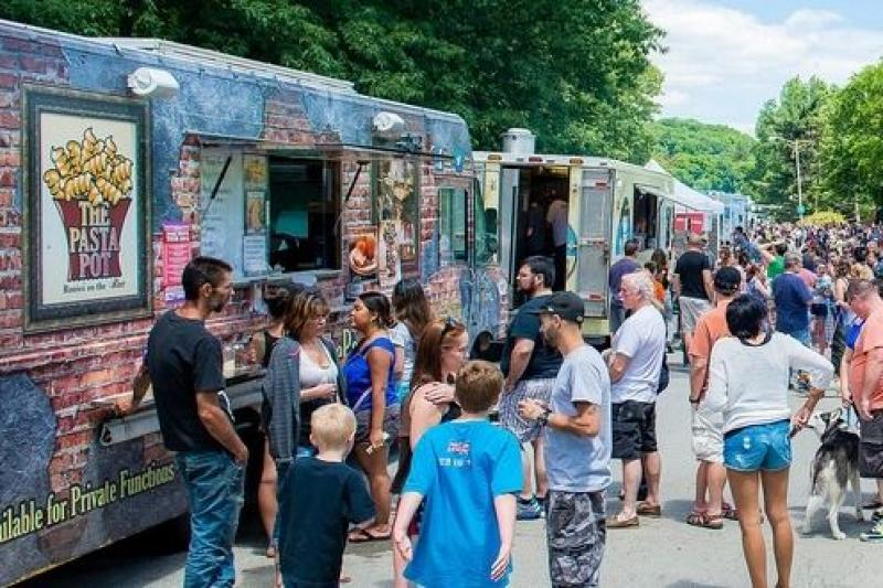 Festival de Food Truck � No clima do m�s de anivers�rio, Sogipa realiza evento gastron�mico