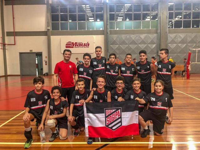 A equipe Mirim masculina é vice-campeã da VI Copa RS.