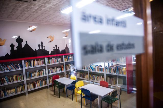 Biblioteca da Sogipa conta com área para estudos e setor infantil