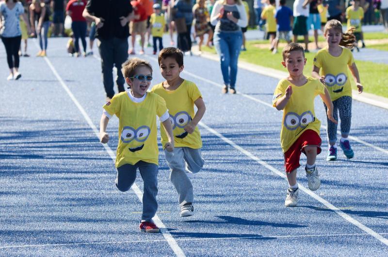 Corrida Kids » Evento que contará com corrida, brinquedos infláveis, food trucks e atividades esportivas para a família inteira, ocorre em 24 de novembro. Inscrições abertas