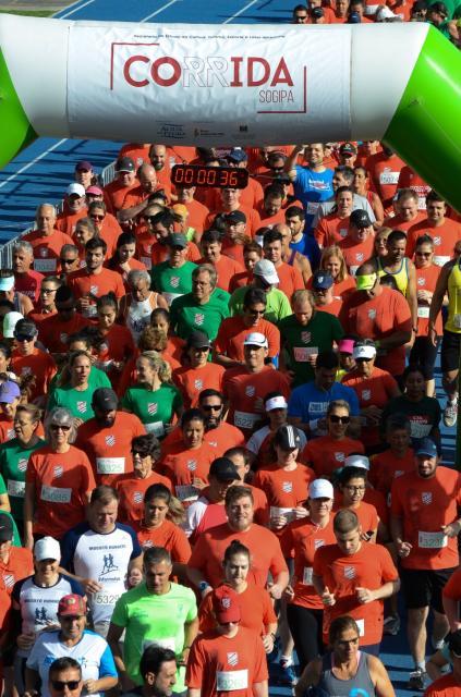 Em 2018, a Corrida da Sogipa reuniu mais de 1 mil atletas
