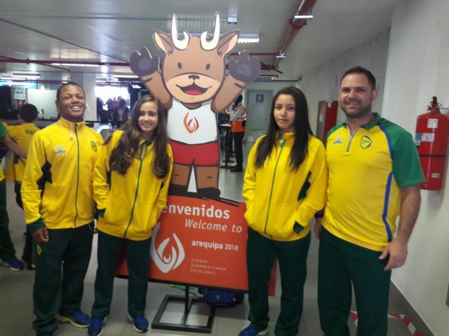 Equipe da Sogipa participa de competição no Peru