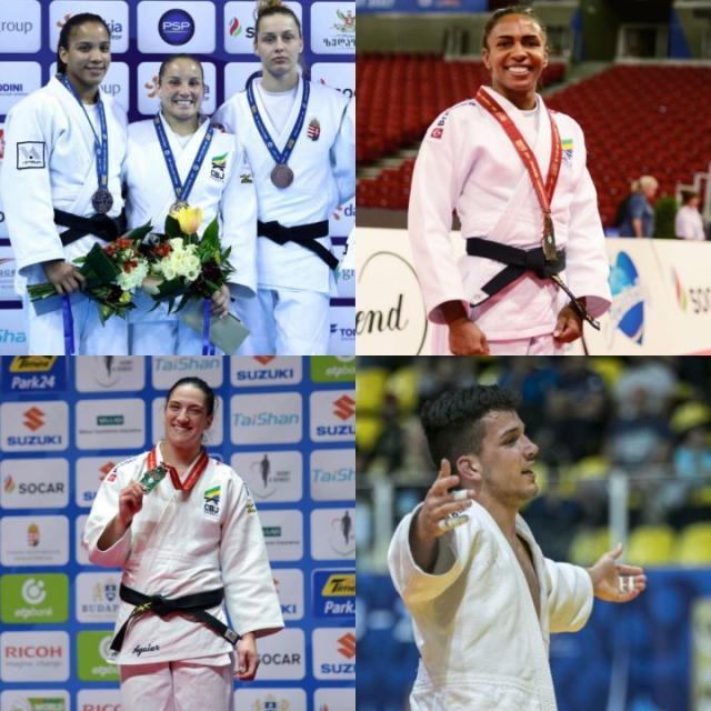 Equipe sogipana conquistou 36 medalhas em torneios da Federação Internacional de Judô