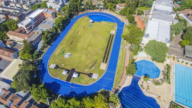 Imagem aérea da Sogipa / Crédito: Wesley Santos