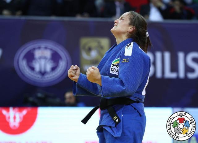 Maria Portela se prepara para o Mundial de Baku