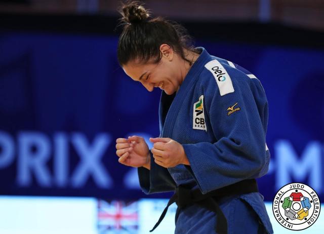 Mayra Aguiar vai em busca do bicampeonato em Budapeste