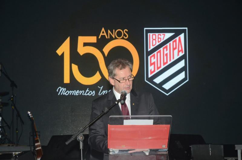 Homenagem federal > Os 150 anos da Sogipa serão tema de sessão solene na Câmara dos Deputados, em Brasília, por proposição de João Derly
