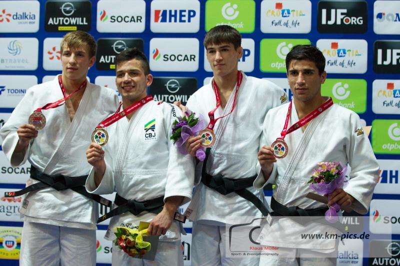 GAROTO DE OURO > Judoca da Sogipa, Daniel Cargnin sagrou-se campeão mundial sub-21 na Cróacia