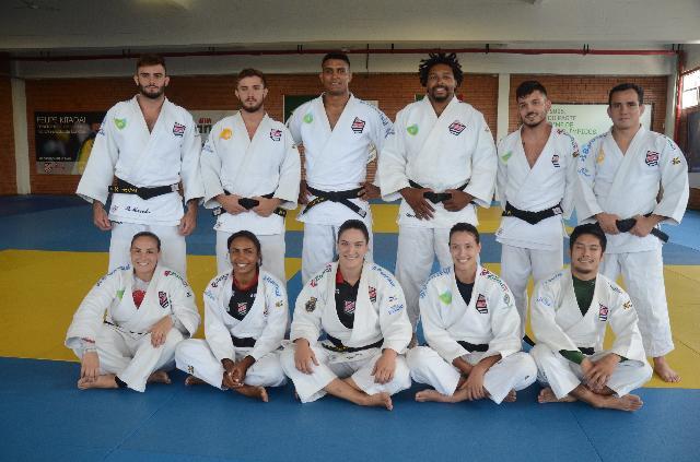 Time de Judô da Sogipa tem 12 atletas na Seleção Brasileira